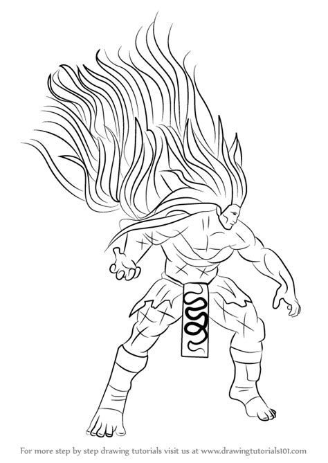 Fighter V Sketches by Learn How To Draw Necalli From Fighter
