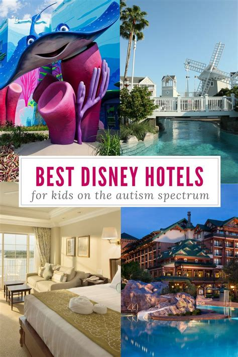 best hotels at disney world with on the autism spectrum