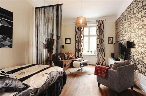 studio decor ideas masculine stockholm apartment featuring vibrant details
