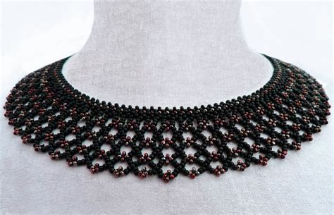 Necklace Pattern free pattern for beaded necklace silvina magic