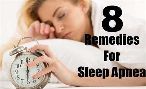 top 8 home remedies for sleep apnea care health
