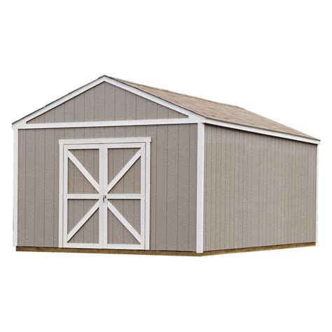 handy home columbia storage shed    ft storage