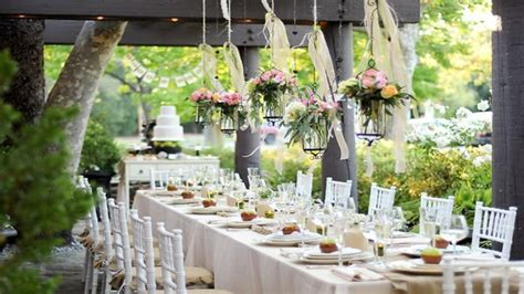 decorations for engagement party at home elegant french country decor outdoor engagement party