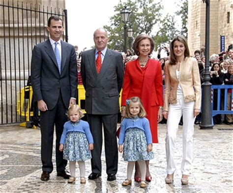 antonaci news la famiglia reale spagnola