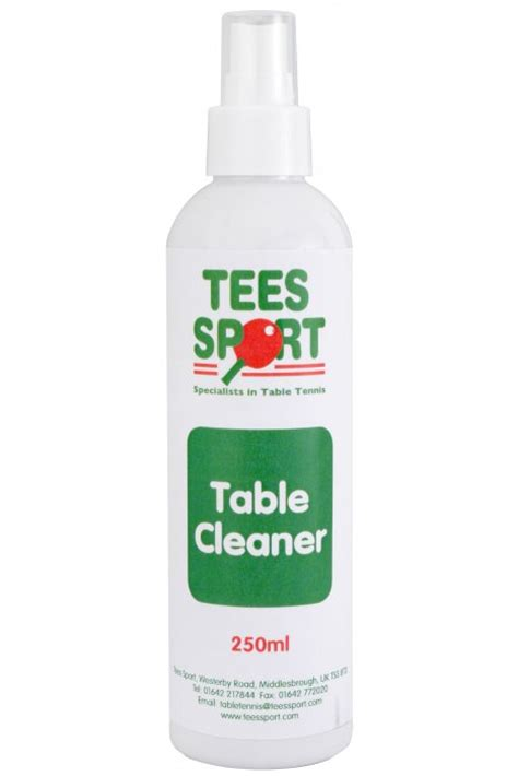 Table Cleaner by Tees Sport Table Tennis Table Cleaner Tournament