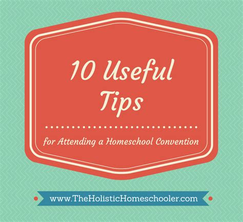convention tips the of