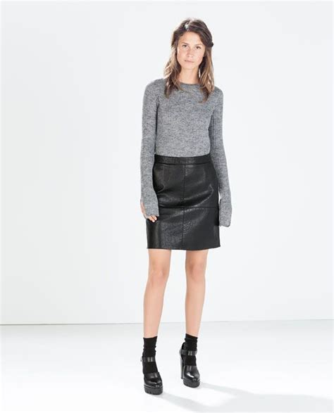 leather pencil skirts girly looks shopping with