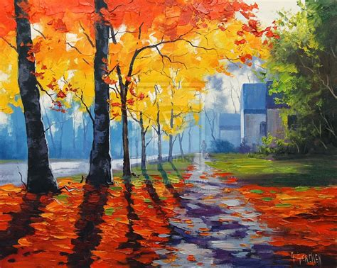 Autumn Landscape Art Project Ideas Artmuse67 Landscape Drawing Ideas