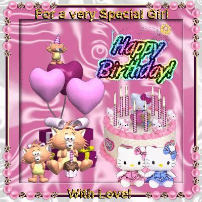 For A Very Special Girl. Free Happy Birthday eCards