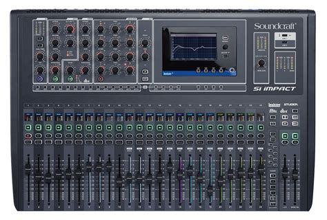 Mixer Digital Soundcraft soundcraft si impact 32 input digital mixer pssl
