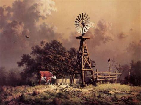 windmills   farm windmill wallpaper