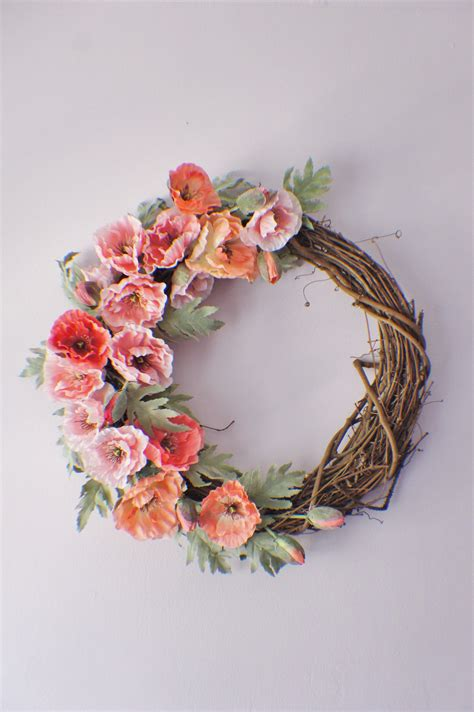 Handmade Door Wreaths - 15 colorful handmade summer wreath ideas to refresh your