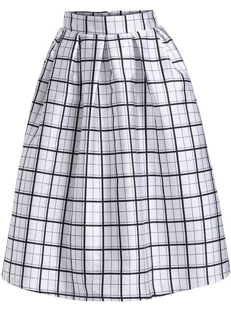 Tartan Midi Flare Skirt 76 best my polyvore finds images on baseball