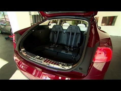Tesla Seating For 7 Meet Tesla S 7 Seat Sedan