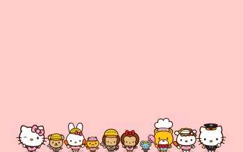 Boneka Hello Pink Polka 66 hello hd wallpapers backgrounds 350x219 20 02 kb