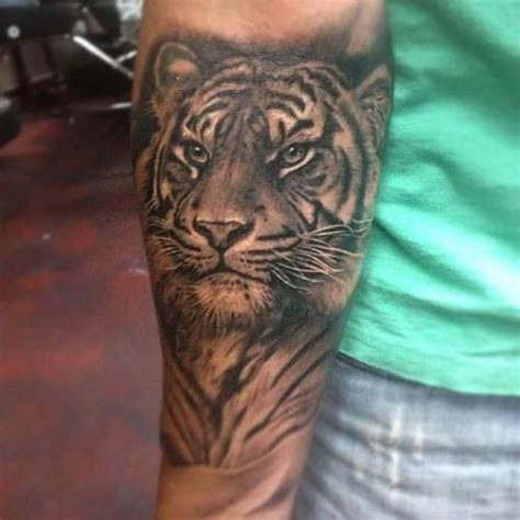 tiger tattoo love placement of arm tattoos