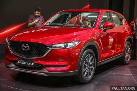 mazda indonesia giias 2017 second mazda cx 5 launched in indonesia