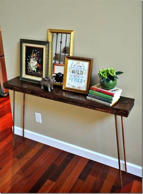 diy entry table ideas    entryway perfect diy