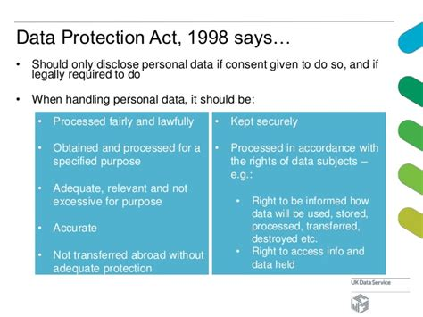 data protection act 1998 section 7 secure lab at the uk data service