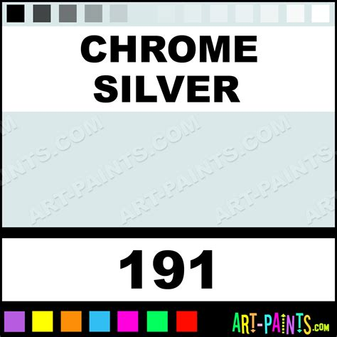 chrome silver modelling enamel paints 191 chrome silver paint chrome silver color humbrol