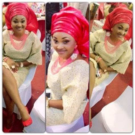 native wear for nigeria celebrity mercy aigbe dazzles in nigerian traditional native wears