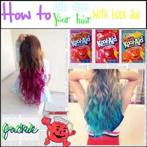 coloring hair with kool aid best 25 kool aid hair dye ideas on how hair
