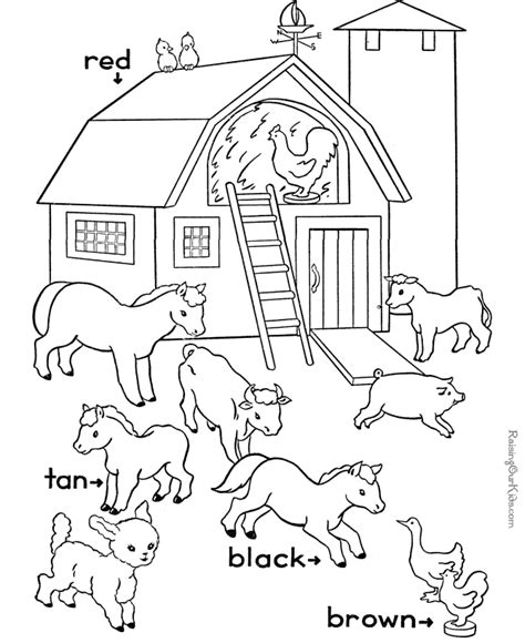 free coloring pages of the primary color wheel