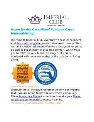 ppt home care agencies miami fl imperial living