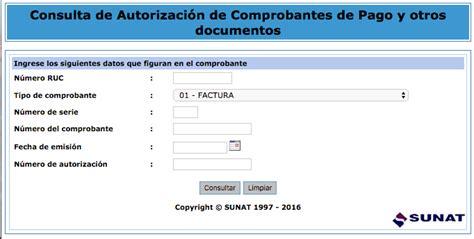 consulta de manifiestos de ingreso sunat sunat consulta de comprobantes de pago en excel
