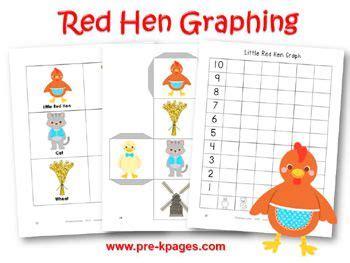 printable version of little red hen 18 best prek k little red hen images on pinterest