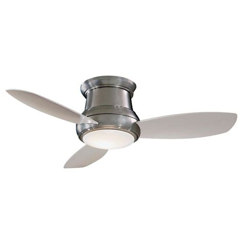 minka lavery ceiling fans minka lavery brushed nickel led ceiling fan with light f518l bn destination lighting