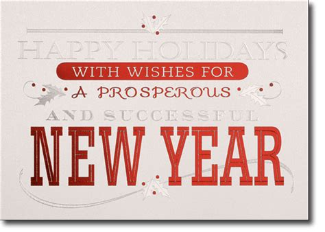 prosperous new year wishes