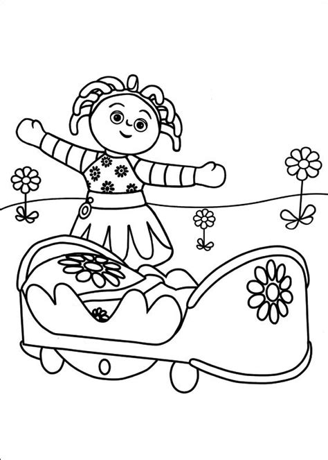 in the night garden coloring pages1 coloring kids