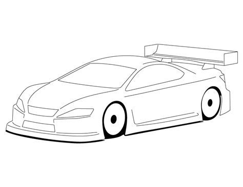 blank coloring pages cars blank templates for designing on paper page 67 r c