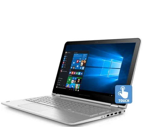 Laptop Hp I7 Ram 8gb hp envy x360 15 quot 2 in 1 laptop i7 8gb ram 256gb ssd qvc