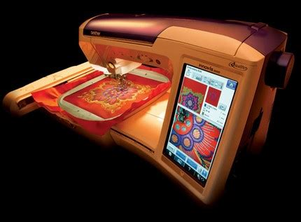 Mesin Bordir Quattro 6000d Quattro 6000d Sewing And Embroidery Machine Itech News Net