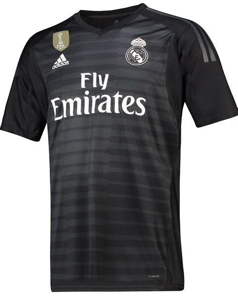 portiere real madrid maglie real madrid 2018 2019 con adidas per scrivere
