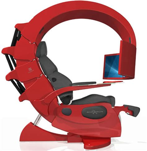 emperor computer chair novelquest emperor 1510 a scorpion shaped computer chair
