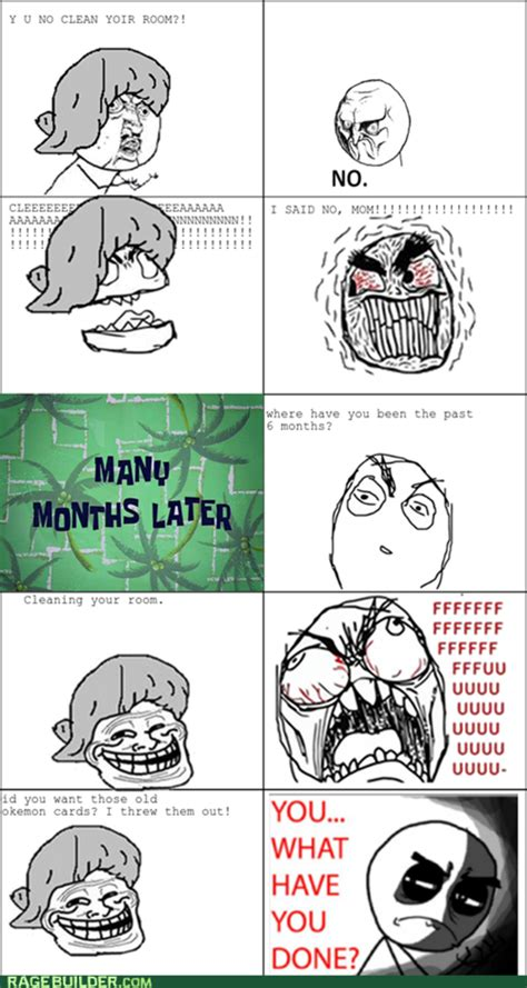 Cat Rage Room cleaning le room rage comics know your meme
