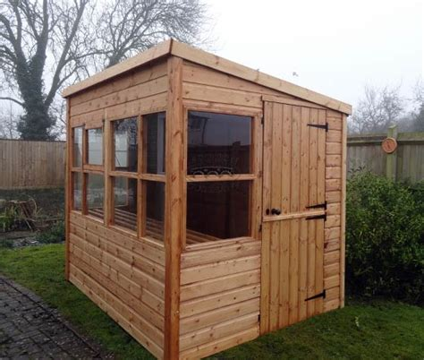 Pent Potting Shed by 301 Moved Permanently