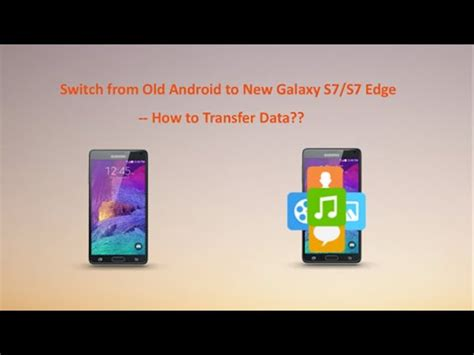 how to transfer data from android to android how to transfer data from android to new samsung