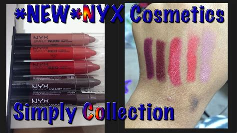 Nyx Simply V new nyx simply and v lip cremes