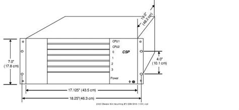Rack Mount Dimensions by Rack Mounting