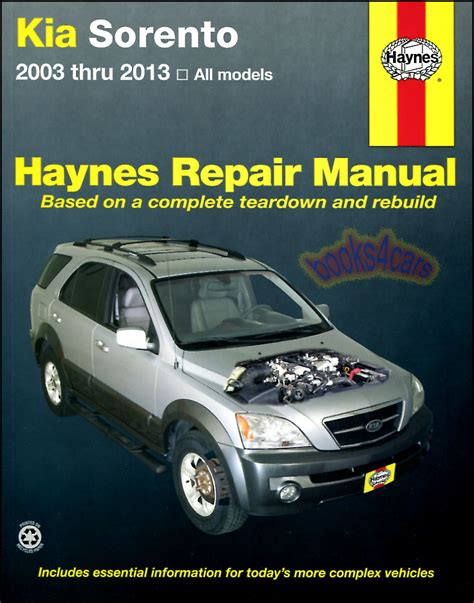 best car repair manuals 2003 kia sedona spare parts catalogs kia manuals at books4cars com