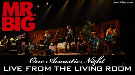 Mr Big Live From The Living Room mr big live from the living room one acoustic ハードロック ヘヴィーメタル フクロムシ コブクロムシ怪獣なんでも