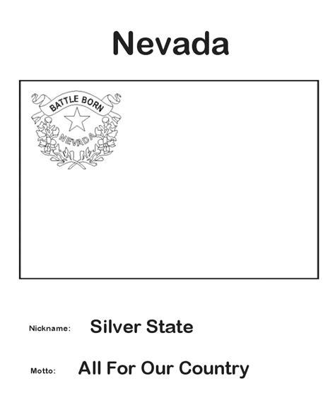 usa printables nevada state flag state of nevada