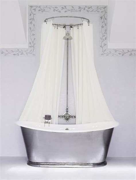 tub shower curtain rod to da loos don t you just love double shower curtains