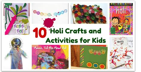 holi crafts for 10 holi crafts and activities for my moppet