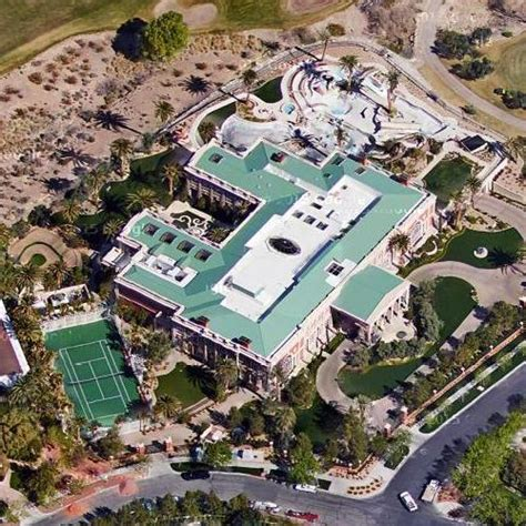 sheldon adelson house sheldon adelson s house in las vegas nv google maps 2