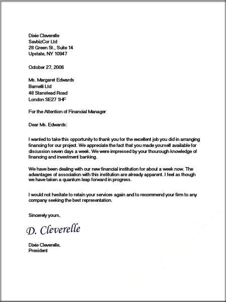 Official Business Letter Sle Formal Business Letter Format Official Letter Sle
